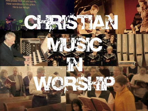 Christian rock music